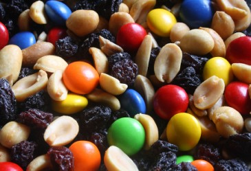 TrailMix,Gorp,Peanuts,Candy