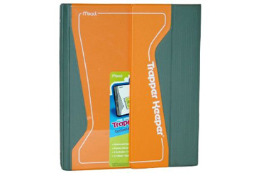 Back to School Folders and Notebooks, Trapper Keeper binder for school