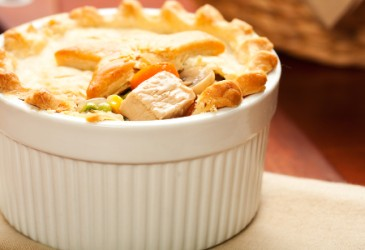 Leftoverturkeymeal,turkeypotpie