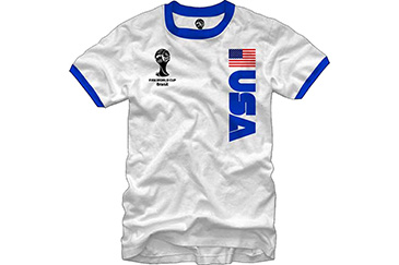 USA World Cup soccer jersey