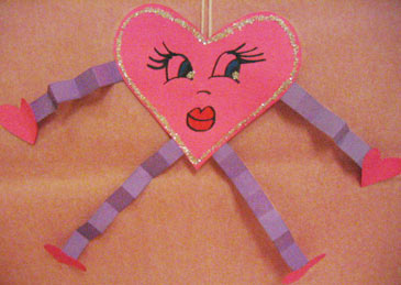 Funny valentines for kids familyeducation for Valentines day art and crafts for preschoolers