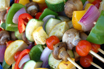 VegetableKabobs,DinnerEntree