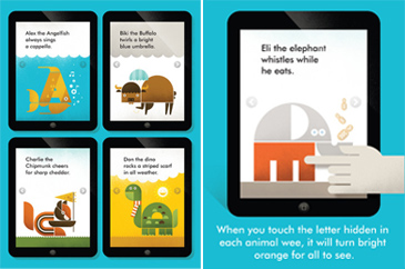 educational app for kids, Wee Alphas