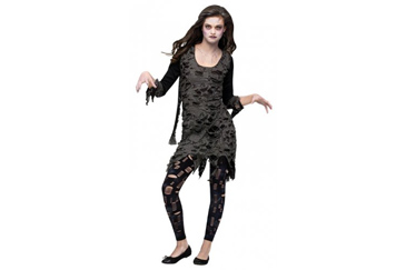 zombie teen Halloween costume