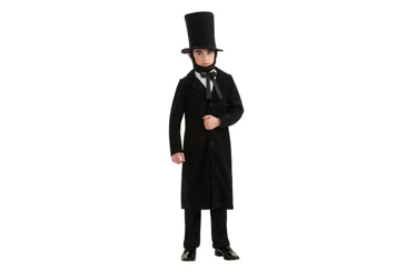 2012 Halloween costumes, Abraham Lincoln for kids