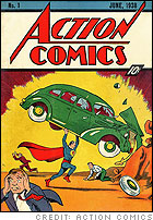 Superman #1, created by Action Comics