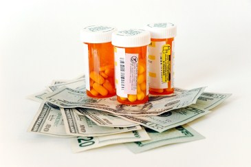 ADHD tips for parents, medication bottles and money