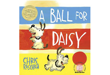 award winning childrens book, a ball for daisy