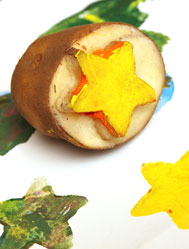 Star Potato Stamp