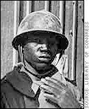 African-American Soldier in World War II