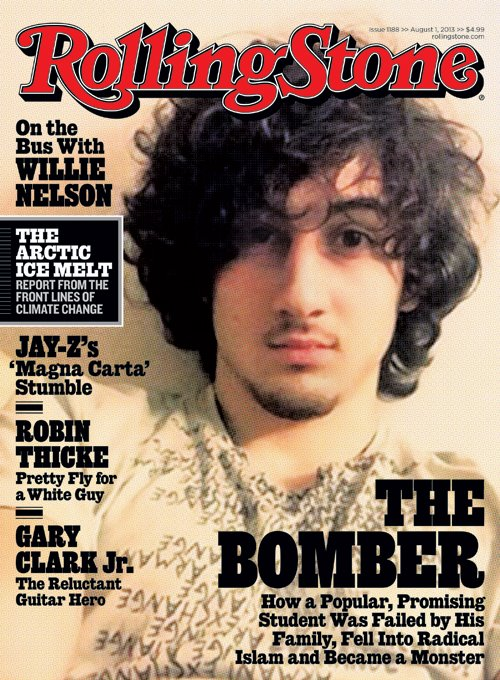 Rolling Stone Boston Bomber Cover