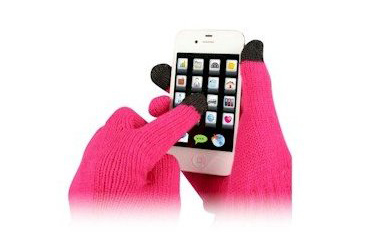 teacher christmas gift, cashmere smartphone gloves