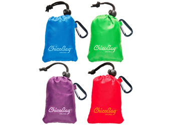 green christmas gift, chicobags reusable shopping bags