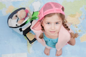 Tips for Road Trips and Car Travel with Kids, young girl traveler