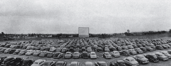 A typical early drive-in.