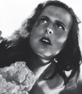 Leni Riefenstahl starring in her own directorial debut, The Blue Light (1932).