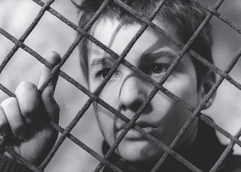 Open frame: Still from The 400 Blows.