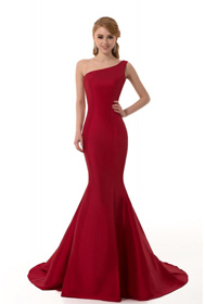2013 prom dress, red gown