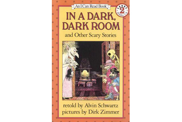 Halloween children's book, In a Dark Room ghost stories for kids