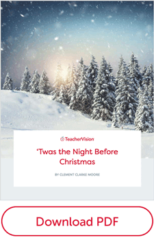 graphic about Twas the Night Before Jesus Came Printable titled Twas the Night time Prior to Xmas: Complete Words of the Clic