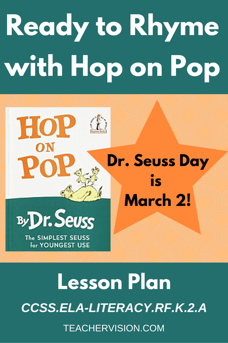 Ready to Rhyme with Hop on Pop by Dr. Seuss