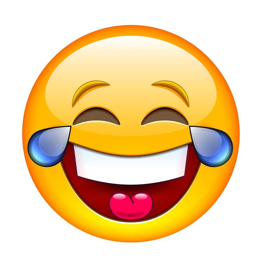 word of the year 2015 is emoji face with tears of joy