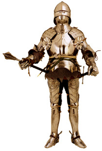 This suit of armor  worn around 1380  gave good protection while the    Medieval Knights Armor Facts