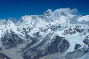 Everest from Mera Peak