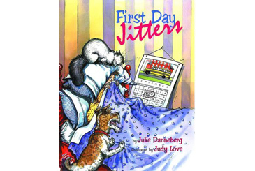 book for child afraid of kindergarten, First Day Jitters