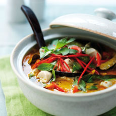 Thai Green Chicken Curry photo