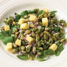 Flageolet Bean and Smoked Cheese Salad photo