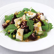 Goat Cheese, Beet, and Pistachio Salad photo