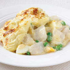 Quick Fish Pie with Peas photo