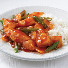 Sweet and Sour Stir-fried Fish with Ginger photo
