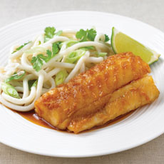 Teriyaki Fish with Noodles photo