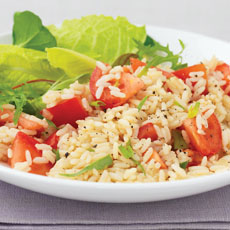 Tomato and Tarragon Pilaf photo