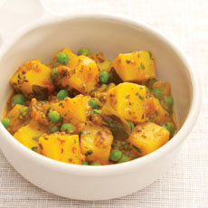 Potato and Pea Curry photo