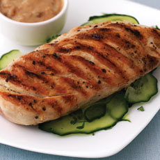 Grilled Chicken with Satay Sauce photo