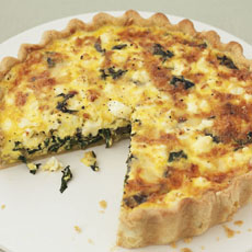 Swiss Chard and Gruyère Cheese Tart photo