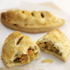 Curried Vegetable Pies photo