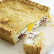 Egg and Ham Pie photo