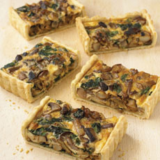 Mixed Mushroom and Walnut Tart photo