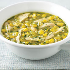 Chicken and Sweet Corn Soup photo
