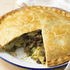 Lamb and Potato Pie photo