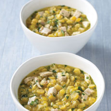 Pork and Yellow Split Pea Soup photo