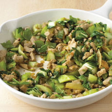 Spiced Turkey and Greens Stir-fry photo