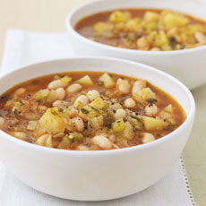 Bean and Rosemary Soup photo