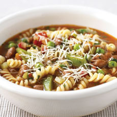 Chunky Minestrone Soup photo