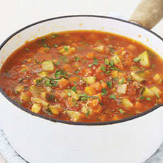 Thick Vegetable Soup photo