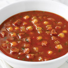 Tomato and Chorizo Soup photo
